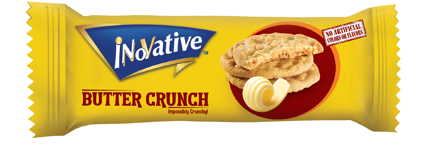 Innovative Biscuits butter crunch